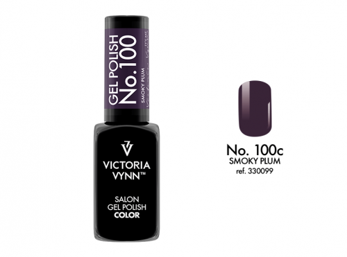 Gél lak - Gel Polish č. 100 - SMOKY PLUM