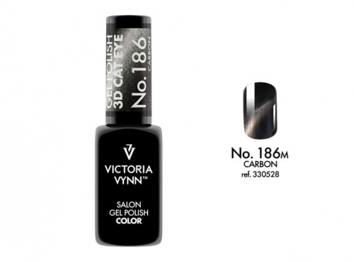 Gél lak - Gel Polish č. 186 - CARBON
