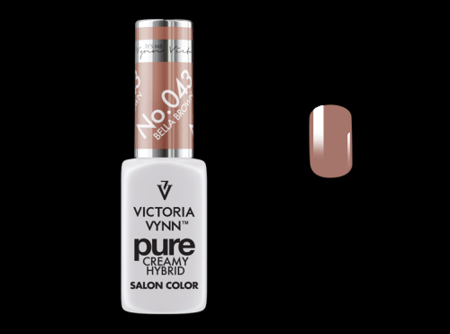 PURE CREAMY HYBRID COLOR -  No. 043 - BELLA BROWN