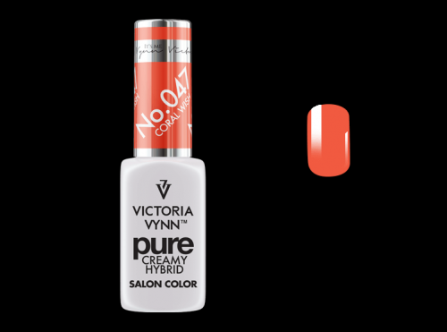 PURE CREAMY HYBRID COLOR -  No. 047 - CORAL WISH