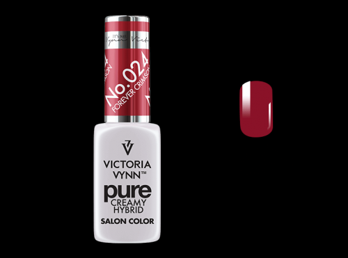 PURE CREAMY HYBRID COLOR -  No. 024 - FOREVER CRIMSON