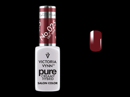 PURE CREAMY HYBRID COLOR -  No. 025 - DRY WINE
