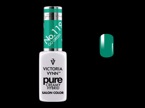 PURE CREAMY HYBRID COLOR -  No. 119 - GO GREEN