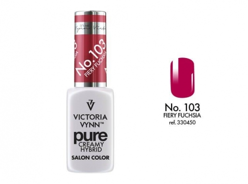 PURE CREAMY HYBRID COLOR -  No. 103 - FIERY FUCHSIA