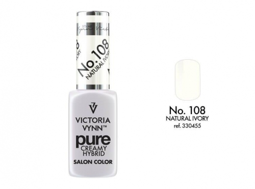 PURE CREAMY HYBRID COLOR -  No. 108 - NATURAL IVORY