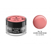 STAVEBNÝ GÉL 15ml - Č. 14 - Cover Candy Rose